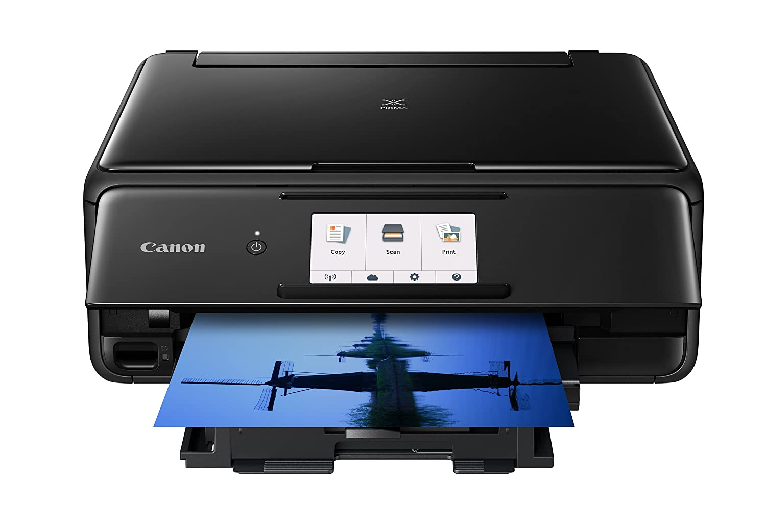 Canon TS8120 Wireless All-In-One Printer with Scanner and Copier: Mobile  and Tablet Printing, with Airprint(TM) and Google Cloud Print compatible,