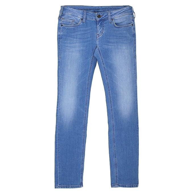 453f94adf615 Mustang, Damen Jeans Hose, Gina Skinny,Stretchdenim,Ocean Blue  19890    Amazon.de  Bekleidung