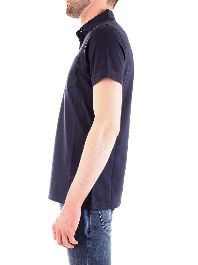 Barbour BAPOL0253NAVY - Polo para hombre (algodón), color azul ...