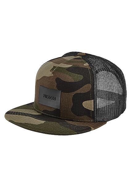 Nixon Team Trucker Hat -Spring 2017-(C2167-1253) - Woodland Camo