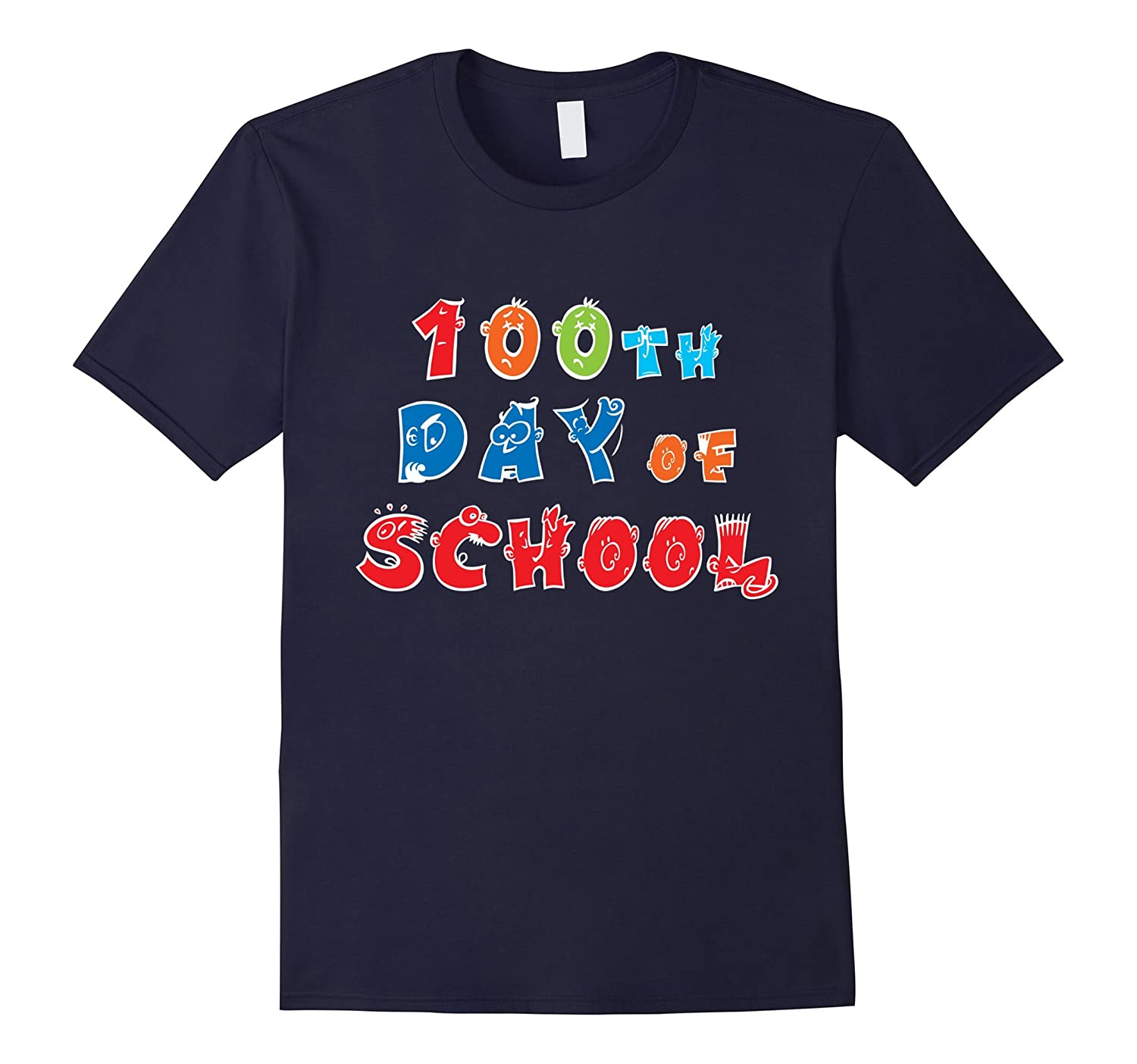 100th Day of School Teacher Student T-Shirt-CD