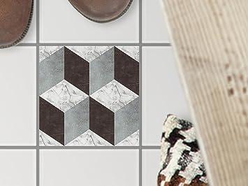 Dekorfliesen Designfolie | Bodenfliesen-Aufkleber Folie Sticker ...