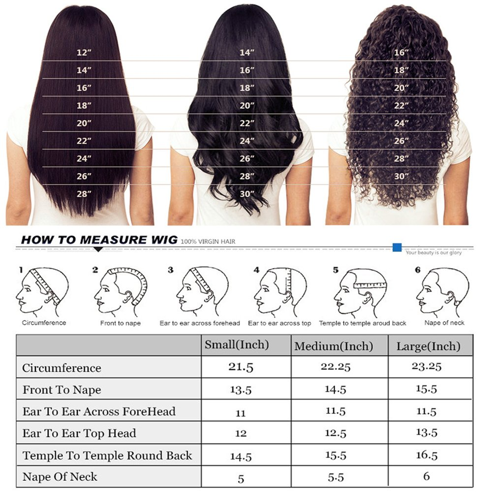 Wicca Brazilian human hair Ombre blonde Full lace wigs Dark root Loose wave Lace front wig Bleached knot Pre plucked hairline 150%density (18inch, 1b/27 lace front wig) by Wicca (Image #6)