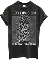 Herren-T-shirt Joy Division - Grunge Texture 100% bauwolle LaMAGLIERIA