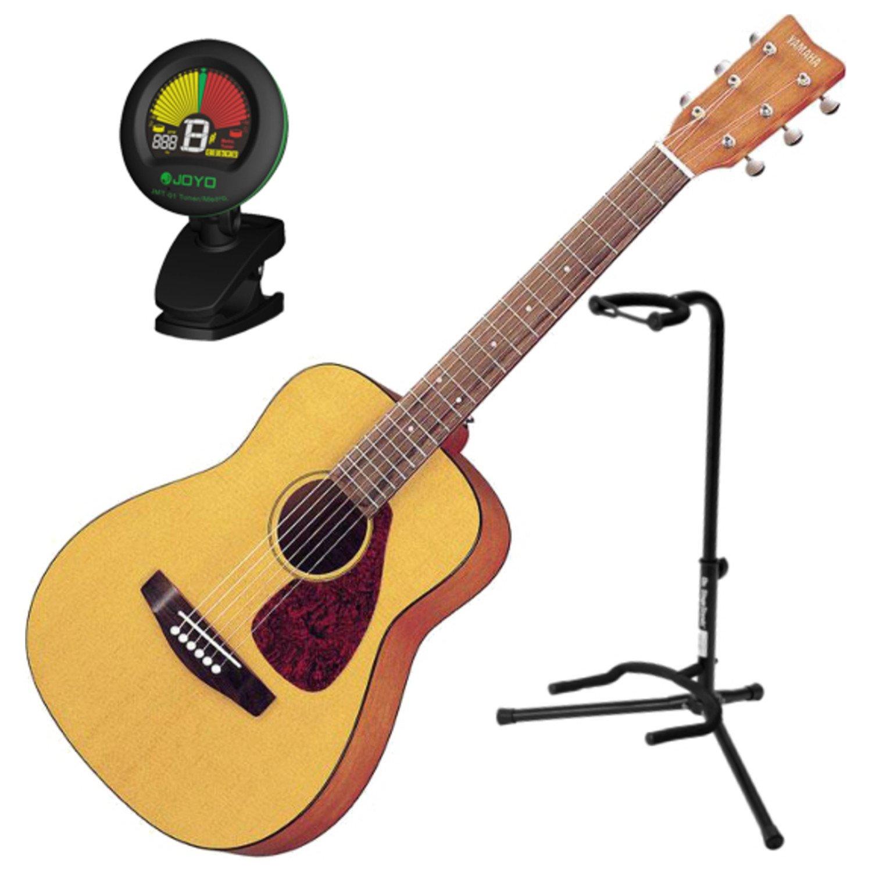 Yamaha JR1 3/4 Scale Mini Folk Guitar w/Guitar Stand and Tuner JR1 BUNDLE