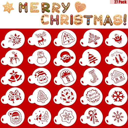 Christmas Tree Stencil Wilton Cake or Decorating Template new