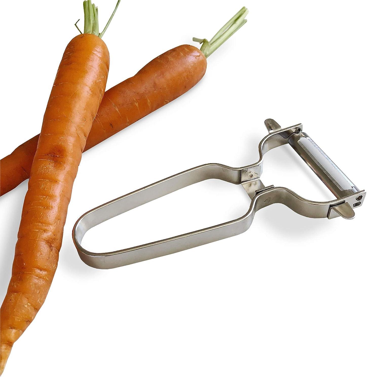 Sharp Razor Vegetable Fruits Salads Potato Chopping Tool Jean-Patrique Stainless Steel Easy Peeler