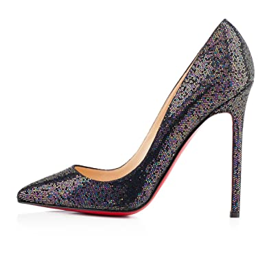 christian louboutin pigalle 120mm blue