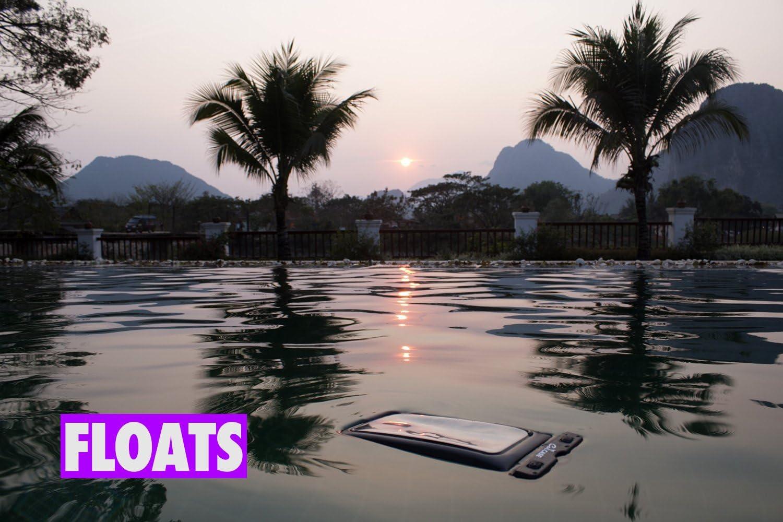 Calicase Schwimmende Universalschutzhülle Wasserdicht Elektronik