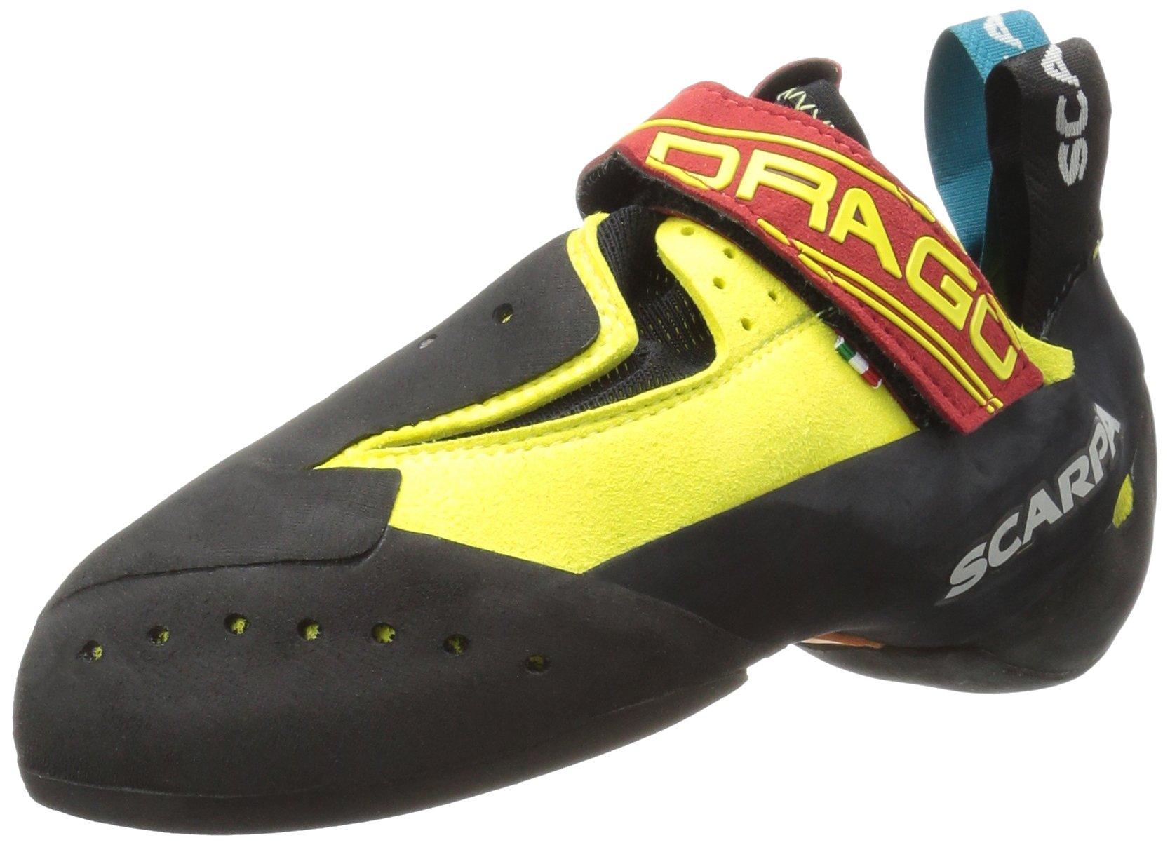 SCARPA Drago Climbing Shoe, Yellow, 42.5 EU/9.5 D US