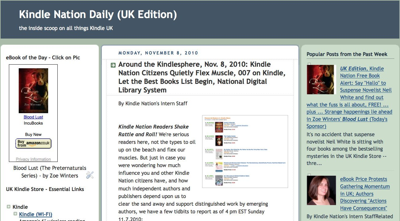 Amazon Com Kindle Nation Daily Uk Edition Stephen