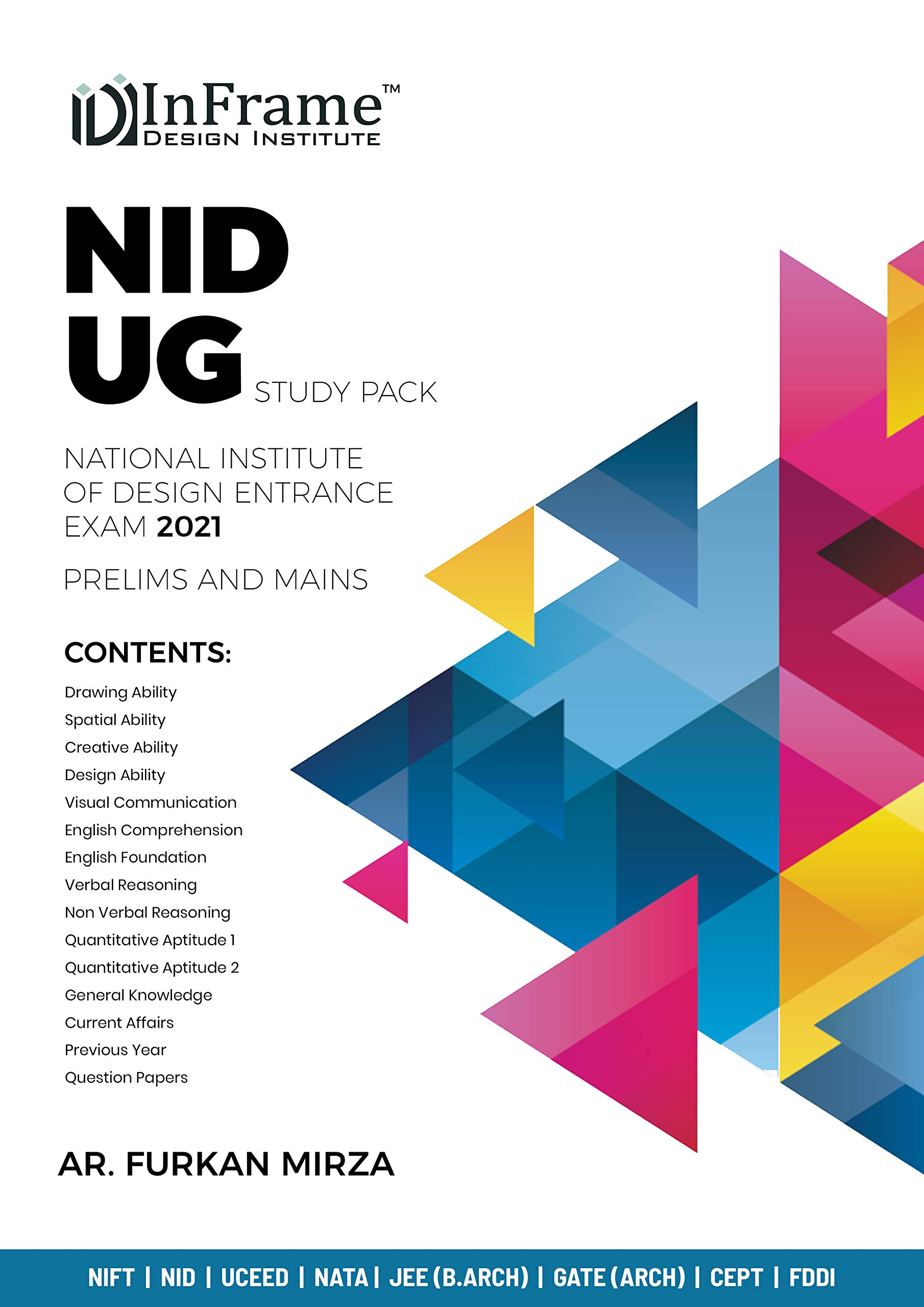 Amazon In Buy Nid Ug B Des Study Pack For 2020 14 Books With Previous Year Question Paper Book Online At Low Prices In India Nid Ug B Des Study Pack For 2020 14