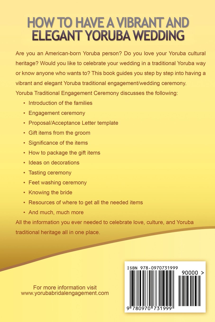 Yoruba Traditional Engagement Ceremony Step By Step Guide To