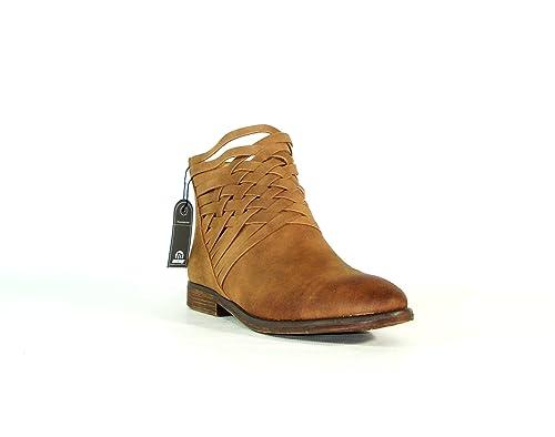 Mustang- Botín C24710 Frozen Tan- talla 41: Amazon.es: Zapatos y complementos