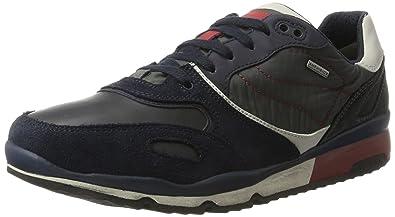 Herren U Sandford B ABX A Sneaker, Grau (Black/Anthracitec9270), 46 EU Geox