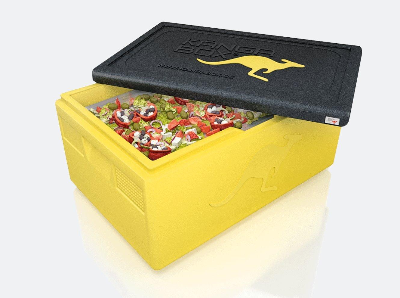K/ÄNGABOX Expert GN 1//1 schwarz EX1117SZ 600x400x180 mm Die Thermobox f/ür Profis im Catering P Inhalt 21 Liter F/ür den gewerblichen Einsatz: ideal zum Transportieren und Isolieren von Gastronorm-Beh/ältern 1//1 F/ür Lieferservice
