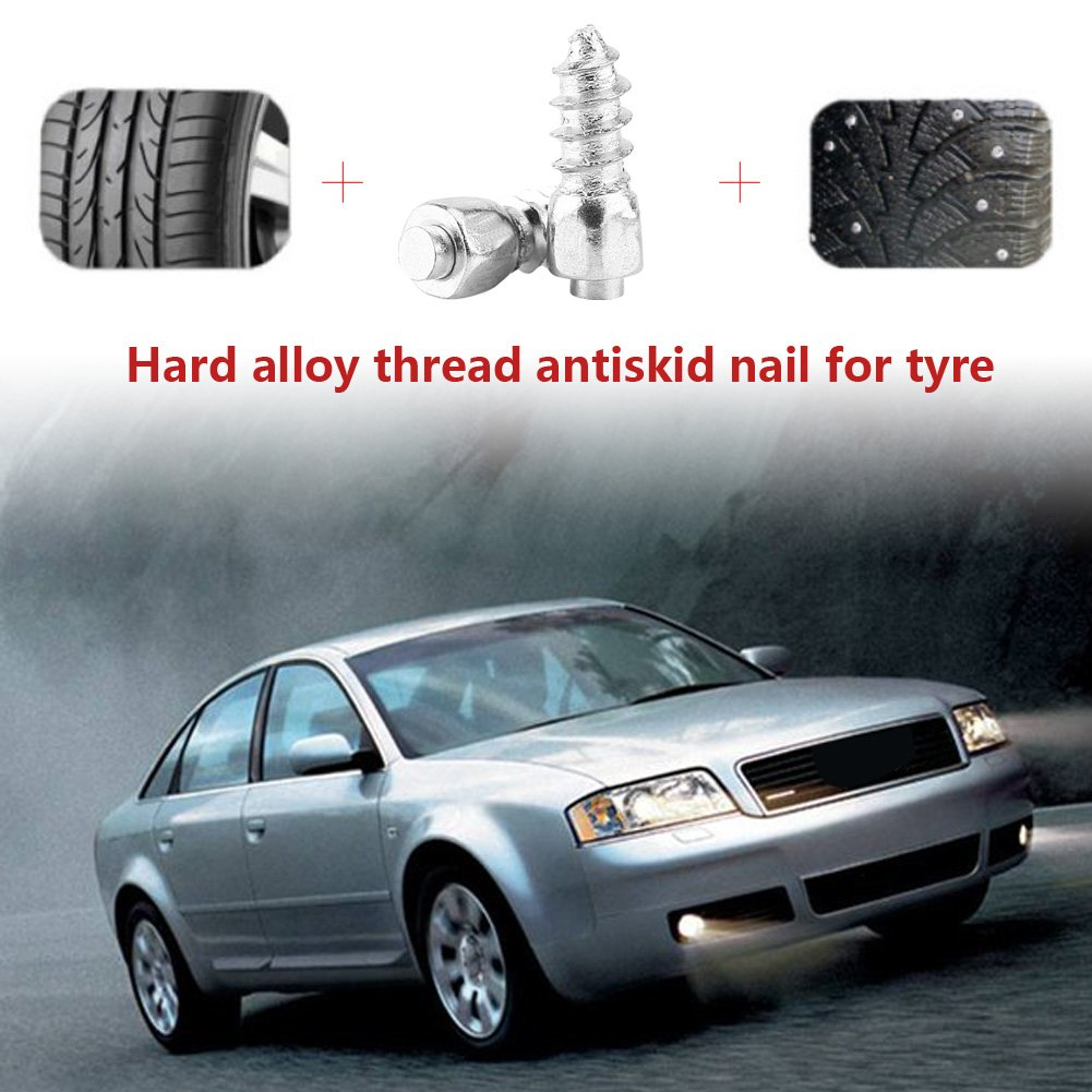 ... Espárragos Rueda Neumáticos Espigas de Llanta Trim Screw en Tire Stud para Coche/Camión/Bicicleta/Boot/Motocicleta/ATV/: Amazon.es: Coche y moto