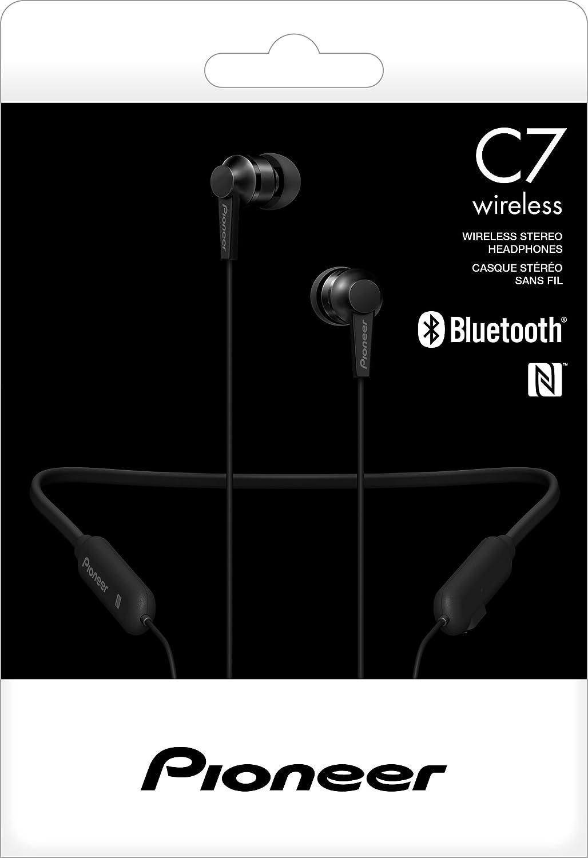 Pioneer C7 in-Ear Auriculares inalámbricos con Banda para el Cuello, Color Negro: Pioneer: Amazon.es: Electrónica