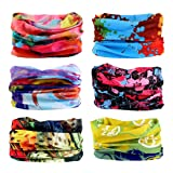 Toes Home 6PCS Outdoor Magic Headband Elastic