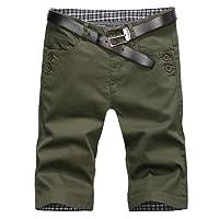 ZooYung Direct Golf Men's Flat Front Short Classic Tech Shorts