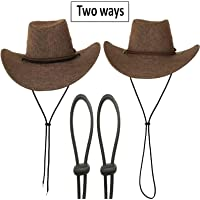 (pack of 2)Adjustable Bungee Rope - Hats Removable Chin Cord, Flexible Removable Chin Strap & Spring Loaded Stop Cord Lock for Swim Goggles fishing, hiking, camping, travel