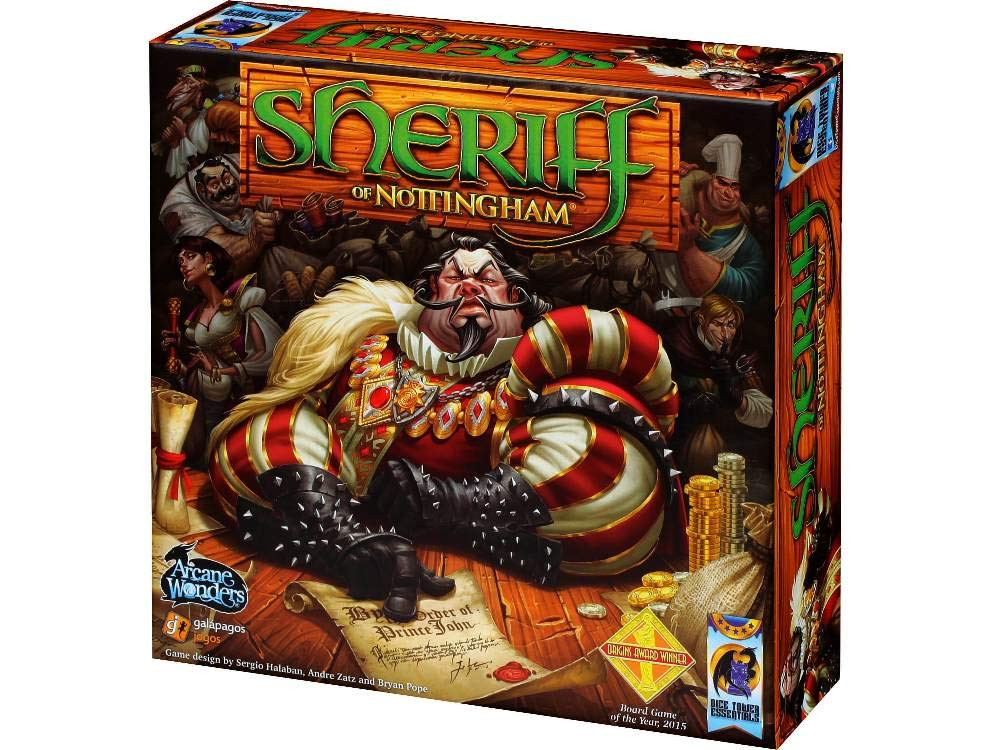 Sheriff of Nottingham Game - Favorite Family Board Games, Gameschooling & Educational Game Reviews at HomeschoolGameschool.co,