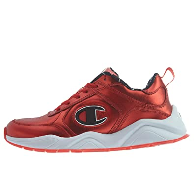 b5680a2e202 Champion 93 Eighteen Metallic Mens Style  CM100110-Red Size  8