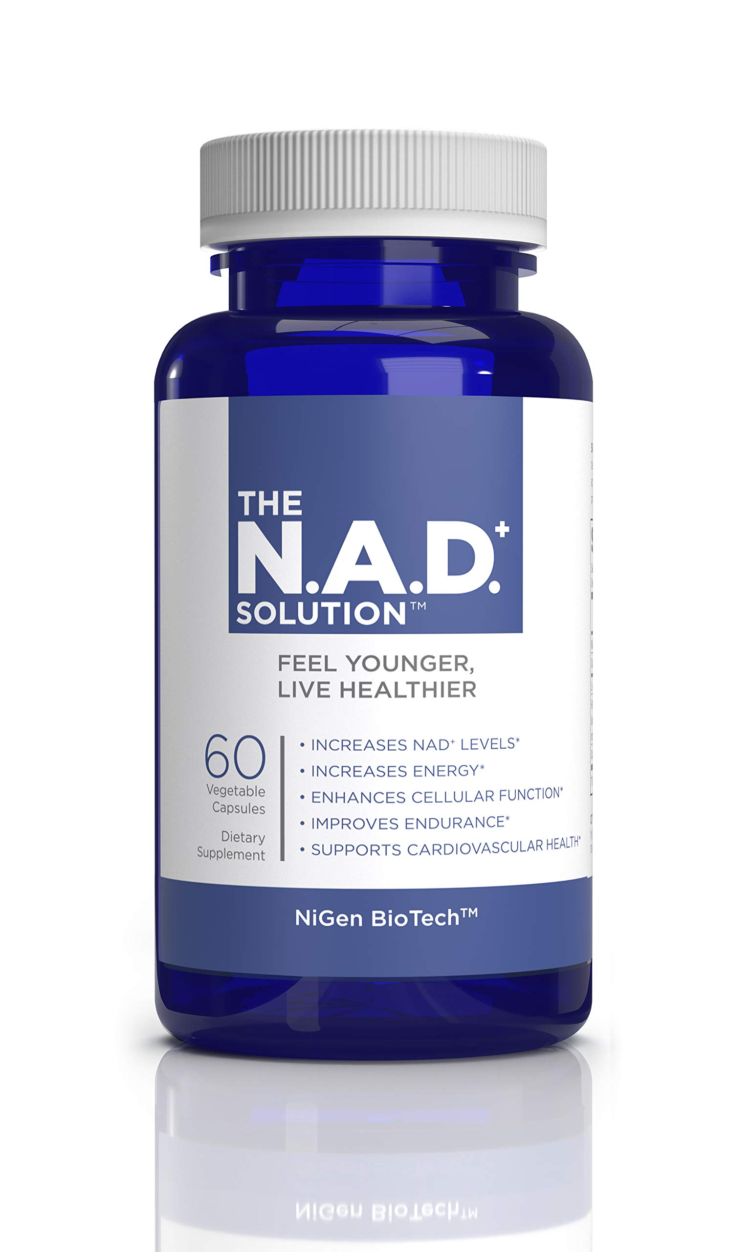 The NAD+ Solution, 60 Count