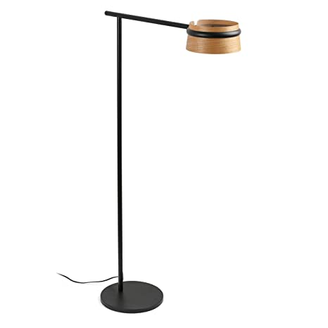 Faro Barcelona 29569 - LOOP LED Lámpara pie de salón negro ...