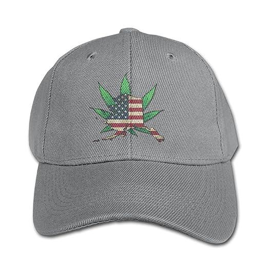 Amazon.com: Kids Girls Boys Alaska & Oregon Map USA Flag Weed Flat ...