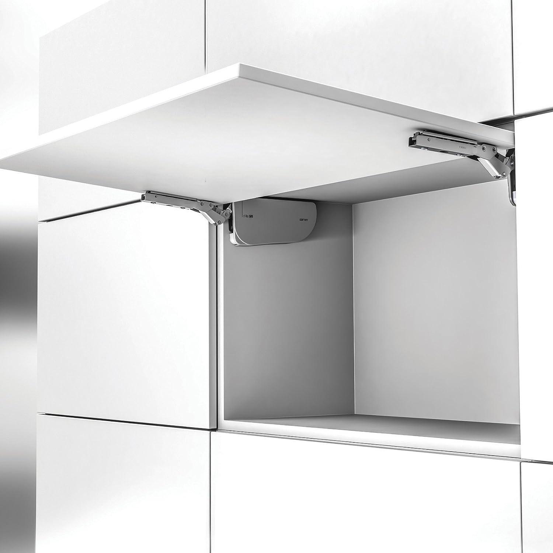 """/""""d-lite Lift/"""" Herraje para Puertas de Muebles Suspendidos Herraje de Elevaci/ón Tipo B1 Antracita max 9 kg Acumulador de SO-TECH/®"""