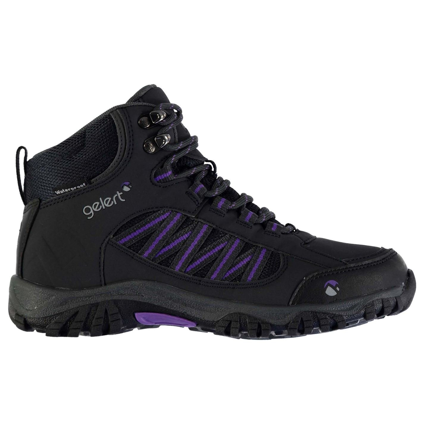 1686a133554 Gelert Womens Horizon Mid Waterproof Walking Boots Breathable Lace Up Shoes