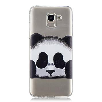 Klassikaline Coque Samsung Galaxy J6 (2018), Transparente Silicone Coque  pour Samsung Galaxy J6 dbd08dc38b54