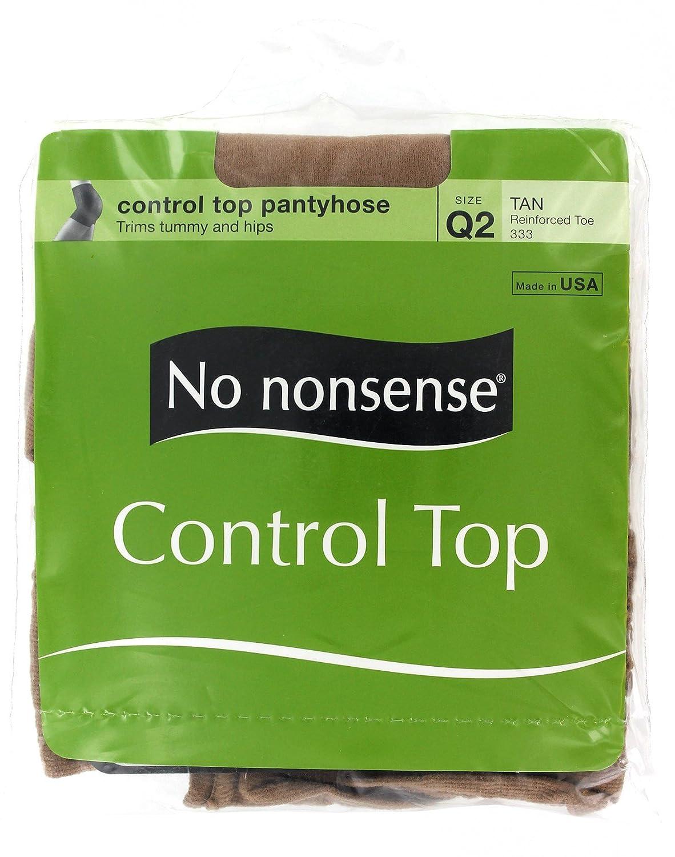 No Nonsense 045 / 333Q2サイズQ2タンコントロールトップナイロン   B0167K65FA