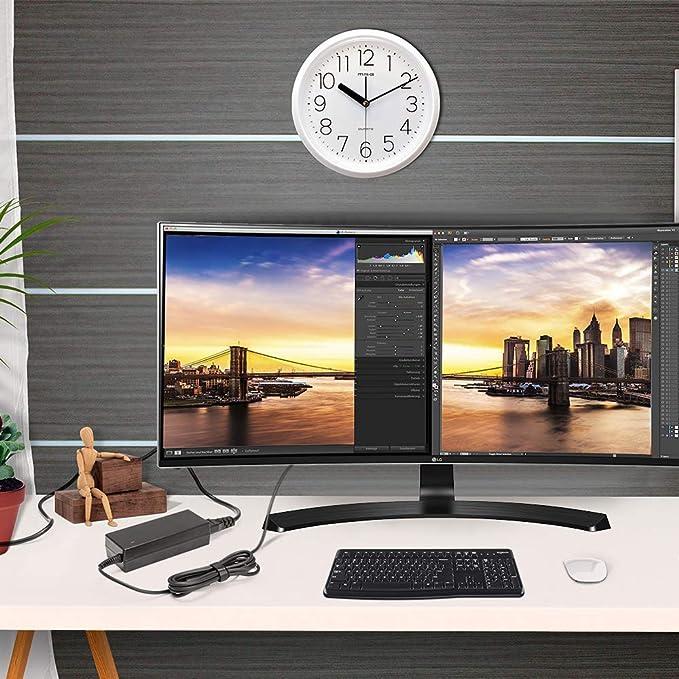 KFD 90W Adaptador de CA Cargador para Sony Bravia W600B W-600B 24 32 40 42 48 WXGA X-Reality Pro Smart LED LCD TV HDTV 4K UHD KDL-24 KDL-32 KDL-40 KDL-42 KDL-48 KDL-40R510C