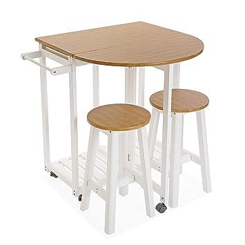 Versa 21810006 Set de Mesa y Dos sillas para Cocina o Comedor en ...