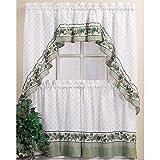 CHF Industries Cottage Ivy Kitchen Curtain Set