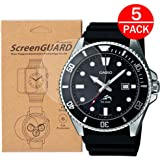 [5-Pack] for Casio MDV106-1A Watch Screen...