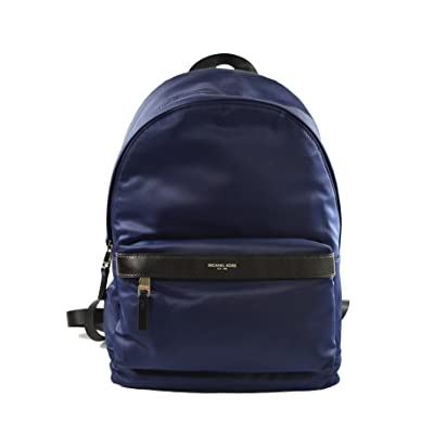 Michael Kors Kent Nylon Backpack For Work School Office Travel (Indigo): Shoes