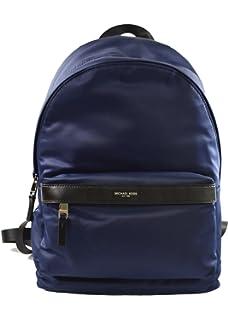 ea2e8c3dfcae Michael Kors Kent Nylon Backpack For Work School Office Travel (Indigo)