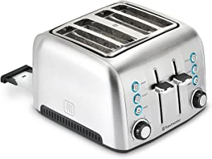 Toastmaster 4-Slice Deluxe Stainless Steel Toaster (pack of 2)