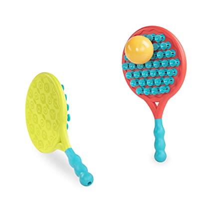 Amazon.com: B toys by Battat – Paddle Popper – Suction Paddle Game for Toddlers 3+ – BPA-Free Toys (3-Pcs): Toys & Games