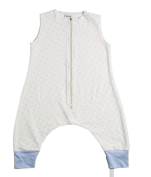 Nait Nait - Pijama Burbuja Estrellas Celeste (S) - Pijama Manta para Niños - Saco de Dormir 100% Algodón: Amazon.es: Ropa y accesorios