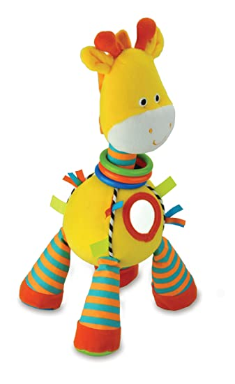 Amazon Com Carters Plush Toy Activity Giraffe Baby