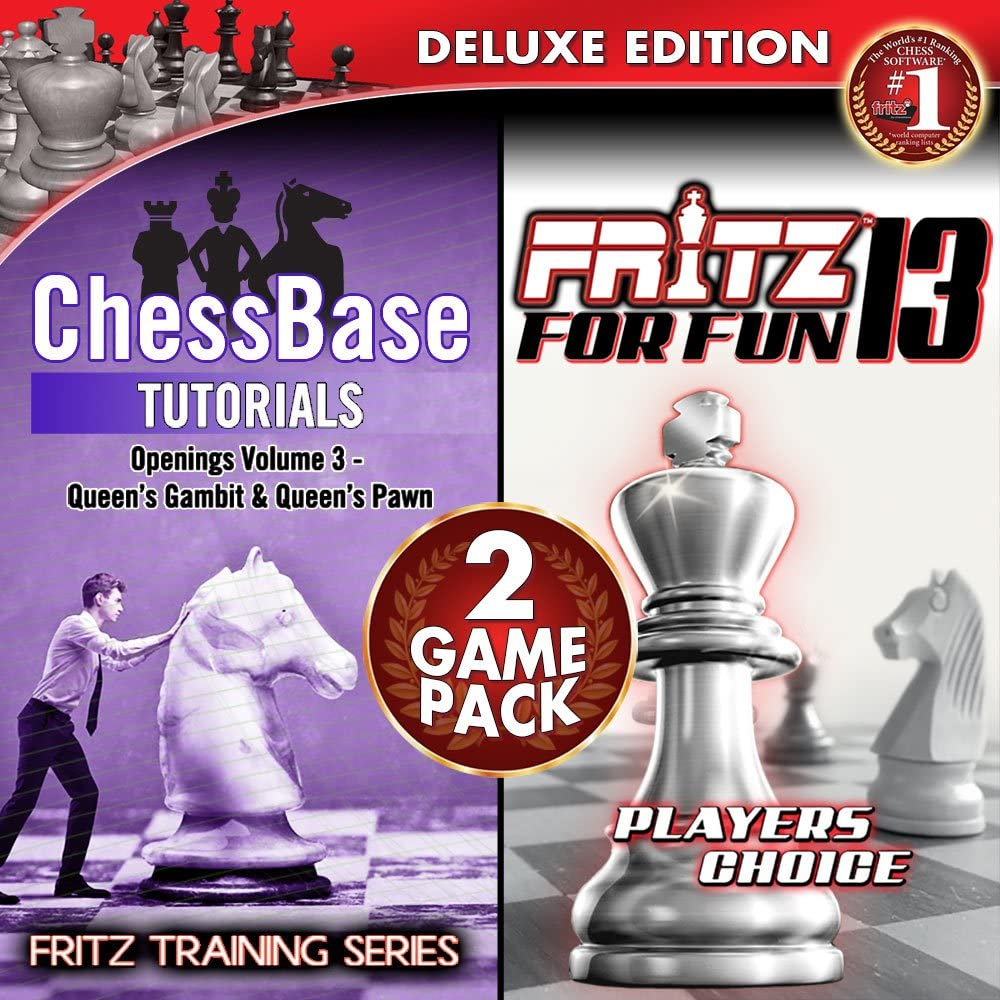 Amazon com: Fritz for Fun 13 & Chessbase Tutorials