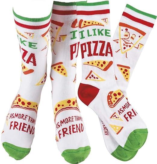 Fun pizza socks
