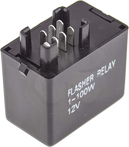 LED Flasher Relay 7 Pin For Suzuki GSXR SV DL Lamp Turn Signal Flash on turn signal flasher diagram, flasher relay, flasher circuit diagram,