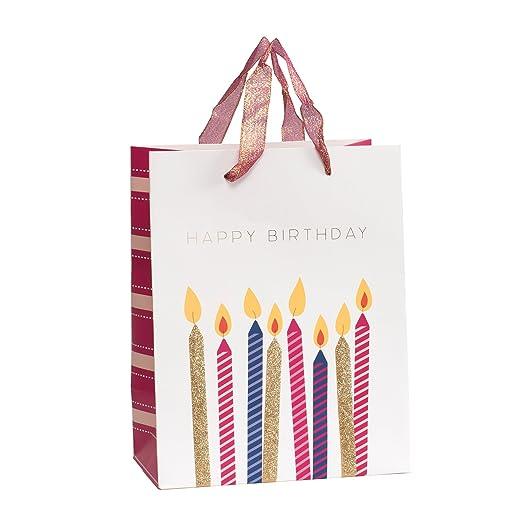 American Crafts - Velas de Cumpleaños (2 Unidades): Amazon ...