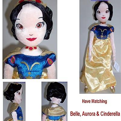 "Disney Princess Snow White Doll RAG Doll Plush Doll Stuffed Doll Soft Doll 16"": Toys & Games"