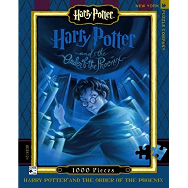 New York Puzzle Company - Harry Potter Order of The Phoenix - 1000 Piece Jigsaw Puzzle